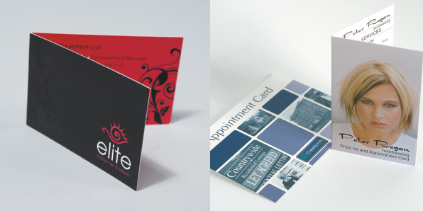 Folded Business Cards Image