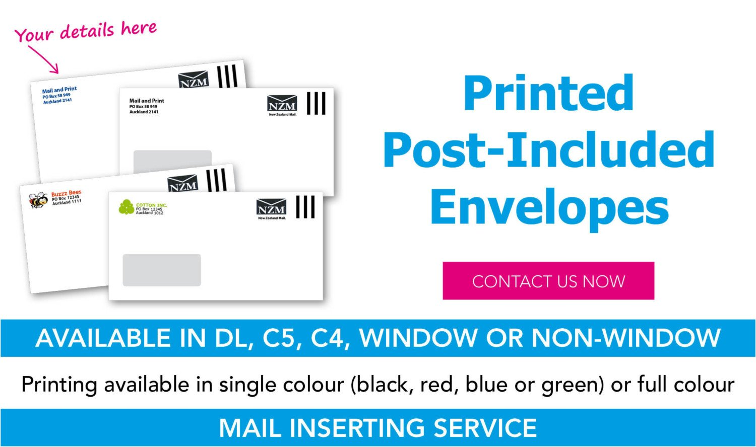 Mail&Print (Mail inserting page) top