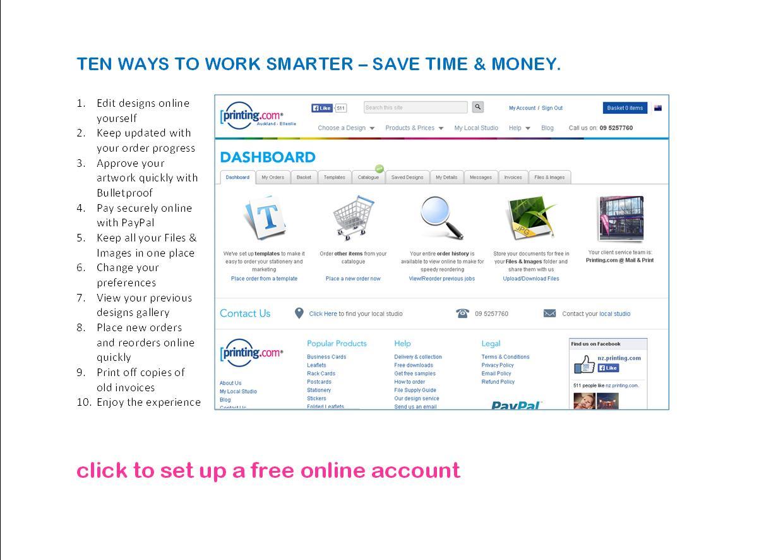 10 Ways To Work Smarter - MyPrinting