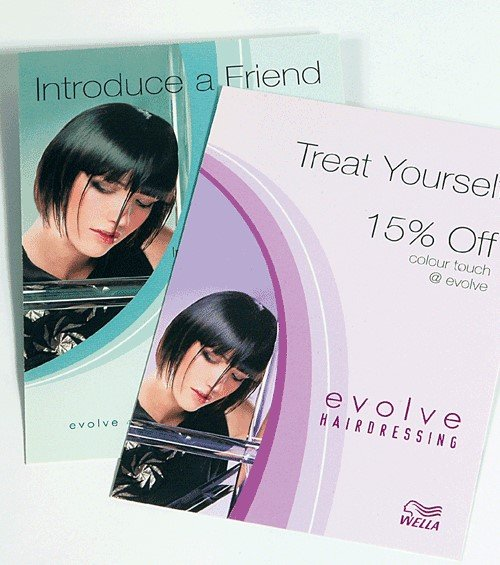 Rack Cards promotional Cards