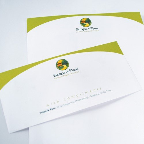 Letterhead and compliment slips